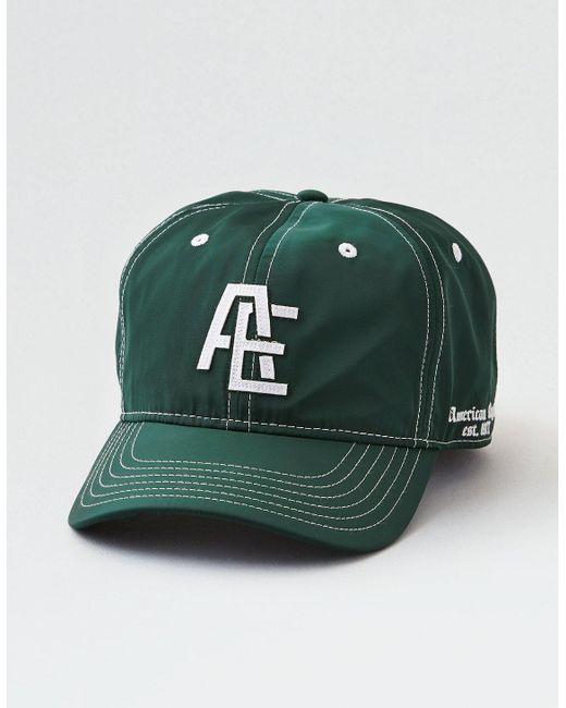 American Eagle - Green Embroidered Logo Hat for Men - Lyst