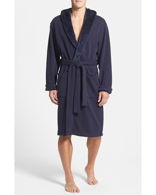 Ugg | Blue Ugg 'brunswick' Robe for Men | Lyst