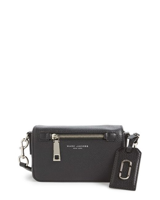 Marc Jacobs | Black Gotham City Leather Cross-Body Bag | Lyst