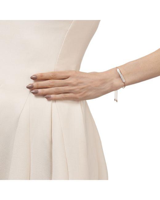 Monica Vinader   Pink Baja Diamond Bracelet   Lyst