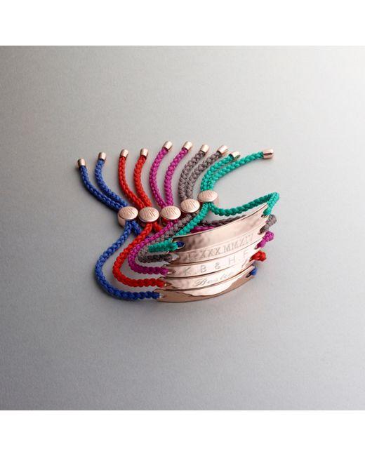 Monica Vinader | Metallic Havana Friendship Bracelet | Lyst