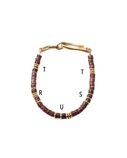 Lulu Frost | Metallic George Frost G. Frost Morse Bracelet - Trust for Men | Lyst