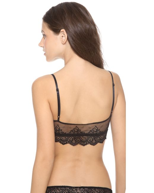 Only Hearts | Black So Fine Lace Bralette | Lyst