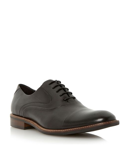 Bertie | Black Radius Lace Up Formal Oxford Shoes for Men | Lyst