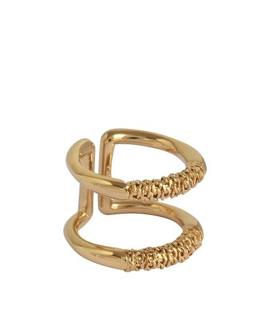Chloé | Metallic Hope Ring With Chains | Lyst