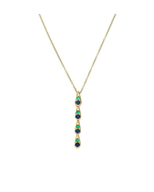Sabine G | Harlequin Blue Sapphire Necklace | Lyst