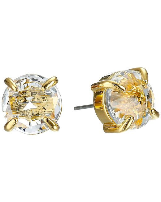 Vince Camuto | Metallic Rivoli Stud Earrings | Lyst