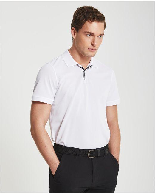 AG Jeans | White The Berrian Polo for Men | Lyst