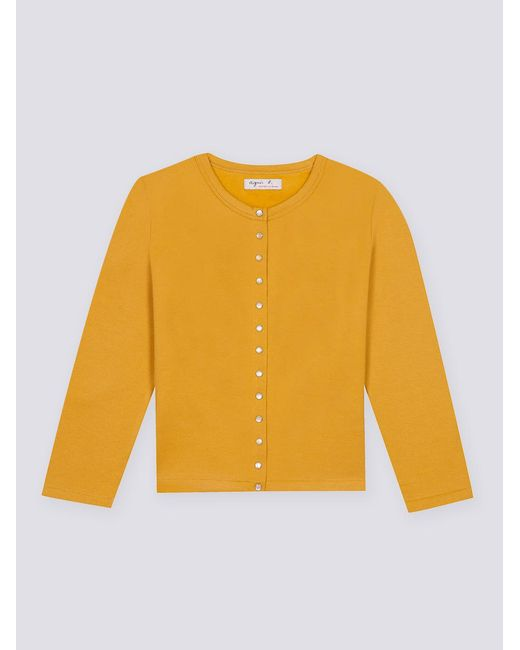 Agnes B. | Yellow 12 Years Cardigan | Lyst