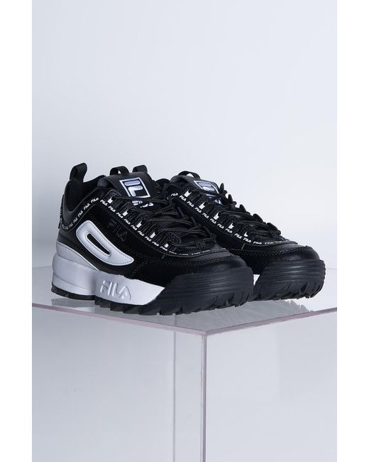 88cf547961b Fila Disruptor Ii Trainers in Black - Save 52% - Lyst