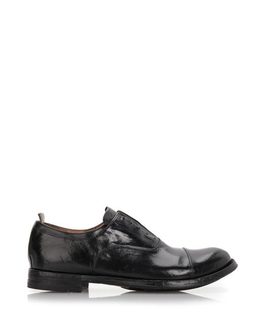 Officine Creative   Brown 'anatomia' Laceless Shoes for Men   Lyst