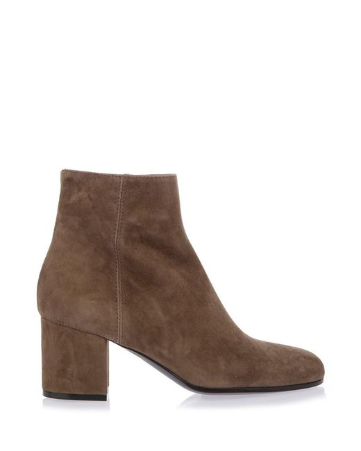 Via Roma 15 | Brown Suede Ankle Boots | Lyst