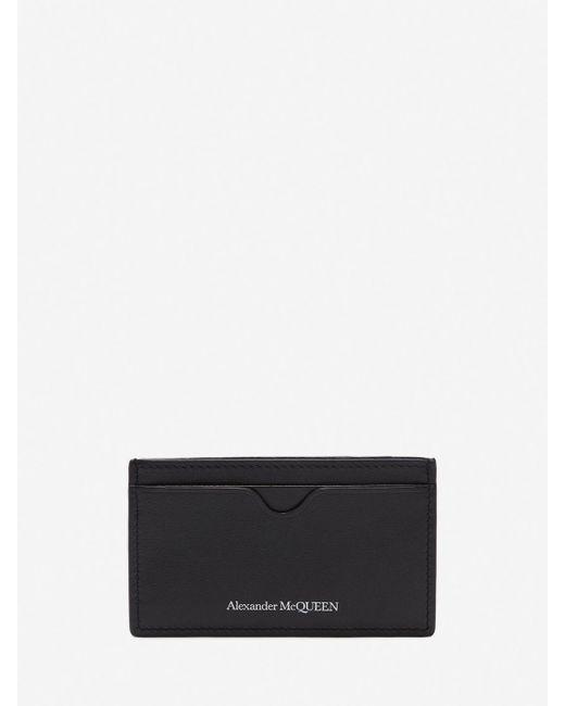 Alexander McQueen - Black Porte-cartes Skull Badge for Men - Lyst