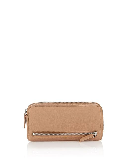 Alexander Wang | Multicolor Fumo Continental Wallet In Matte Truffle With Rhodium | Lyst