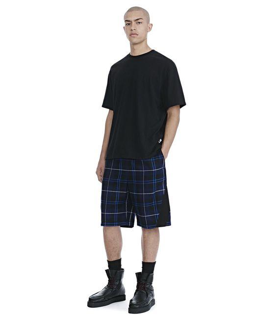 Alexander Wang | Black High Twist Jersey Short Sleeve Tee for Men | Lyst