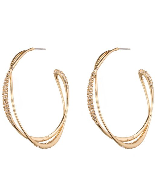 Alexis Bittar | Metallic Encrusted Orbiting Hoop Earring You Might Also Like | Lyst