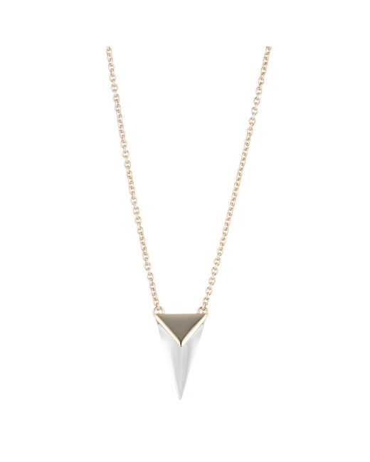 Alexis Bittar | Metallic Pyramid Pendant Necklace You Might Also Like | Lyst