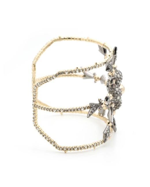 Alexis Bittar | Metallic Crystal Encrusted Snowflake Cuff Bracelet You Might Also Like | Lyst
