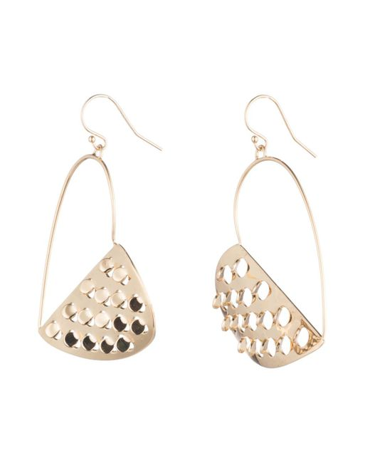 Alexis Bittar - Multicolor Half Heart Grater Wire Earring You Might Also Like - Lyst