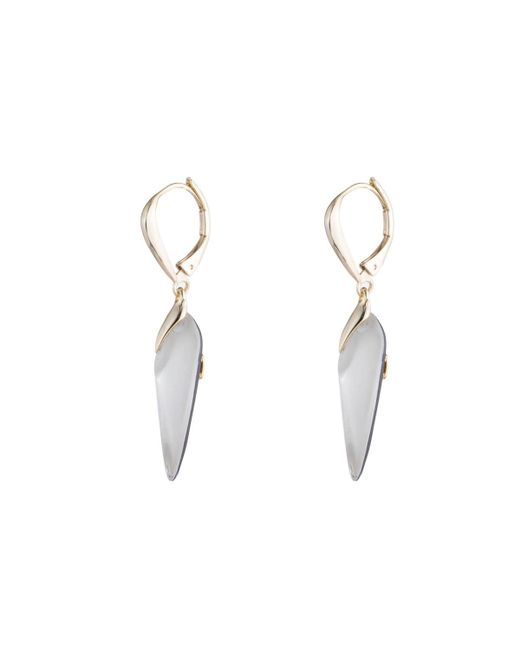 Alexis Bittar - Metallic Lever Back Drop Earring You Might Also Like - Lyst