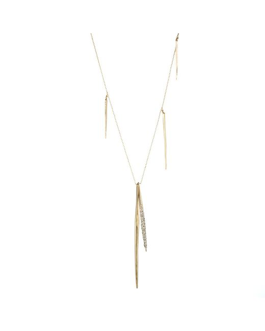 Alexis Bittar | Metallic Crystal Encrusted Long Spear Necklace You Might Also Like | Lyst