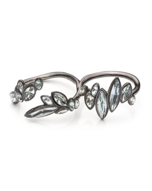 Alexis Bittar   Blue Liquid Crystal Two Finger Cluster Ring You Might Also Like   Lyst