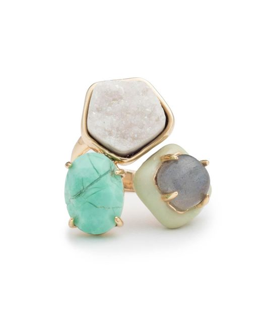 Alexis Bittar - Multicolor Druzy Stone Cluster Cocktail Ring You Might Also Like - Lyst