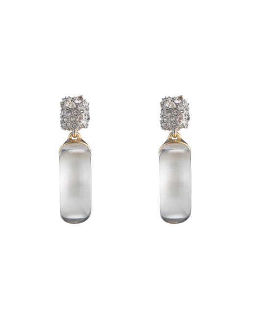 Alexis Bittar | Metallic Domed Drop Circle Post Earring You Might Also Like | Lyst