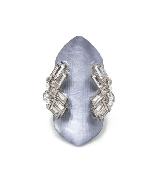 Alexis Bittar | Blue Coral Deco Shield Ring You Might Also Like | Lyst