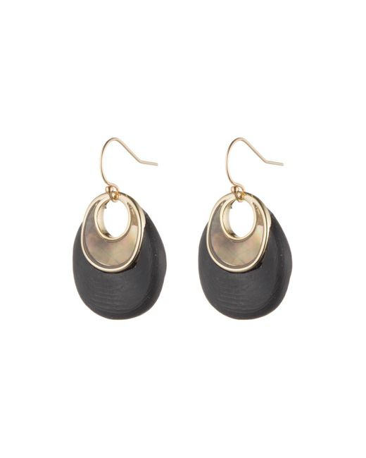 Alexis Bittar | Black Link Earring With Mother Of Pearl Inlay You Might Also Like | Lyst