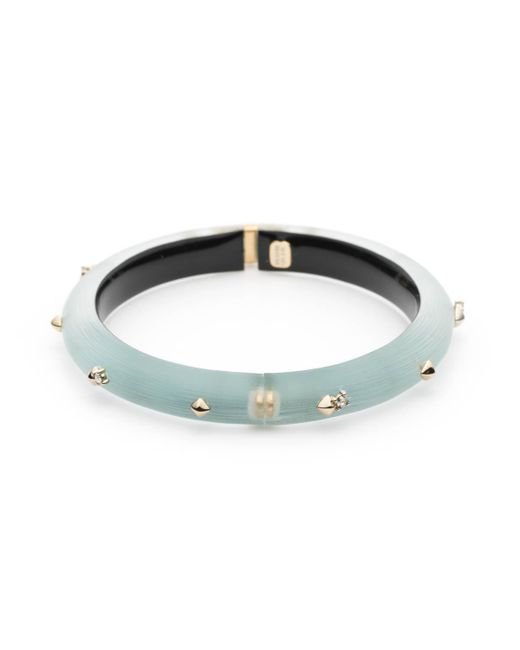 Alexis Bittar - Multicolor Golden Studded Hinge Bangle Bracelet You Might Also Like - Lyst