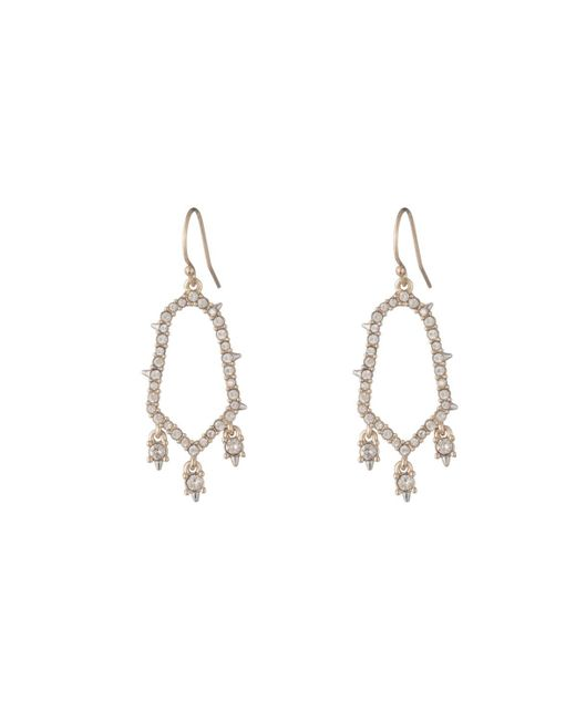 Alexis Bittar | Multicolor Crystal Encrusted Triple Drop Wire Earring You Might Also Like | Lyst