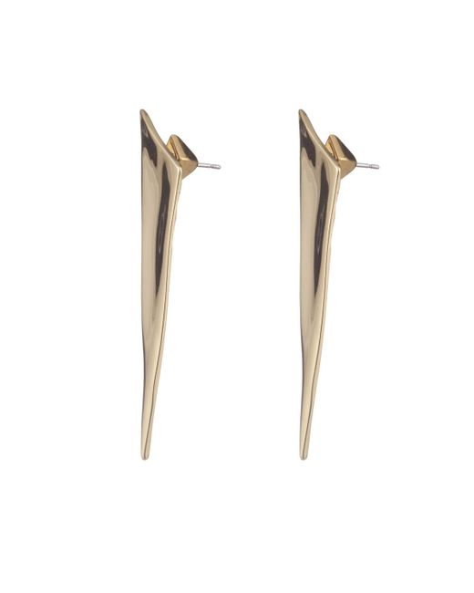 Alexis Bittar | White Liquid Gold Angled Pyramid Post Earring You Might Also Like | Lyst