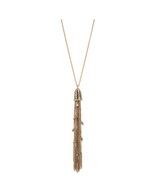 Alexis Bittar | Multicolor Cascading Crystal Tassel Pendant Necklace You Might Also Like | Lyst