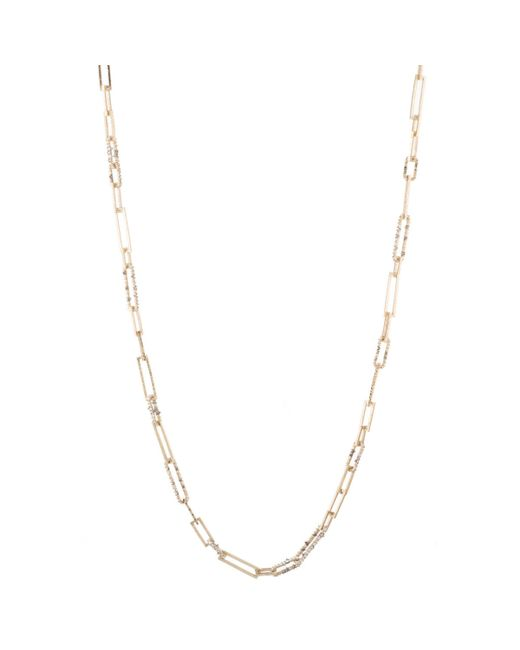 Alexis Bittar | White Crystal Encrusted Link Strand Necklace You Might Also Like | Lyst