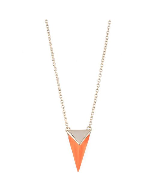 Alexis Bittar | White Faceted Pyramid Pendant Necklace You Might Also Like | Lyst