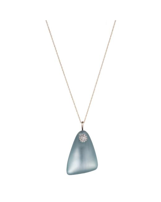 Alexis Bittar - Multicolor Crystal Encrusted Swinging Lucite Length Pendant Necklace You Might Also Like - Lyst