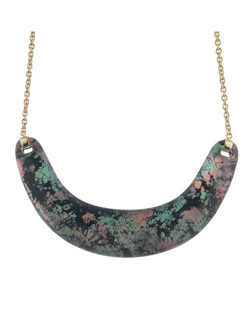 Alexis Bittar   Multicolor Crescent Bib Necklace You Might Also Like   Lyst