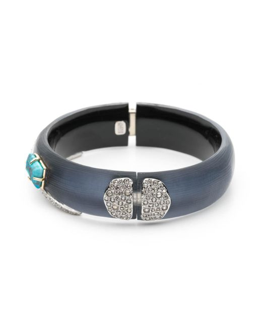 Alexis Bittar - Multicolor Crystal Encrusted Fancy Shield Hinge Bracelet You Might Also Like - Lyst