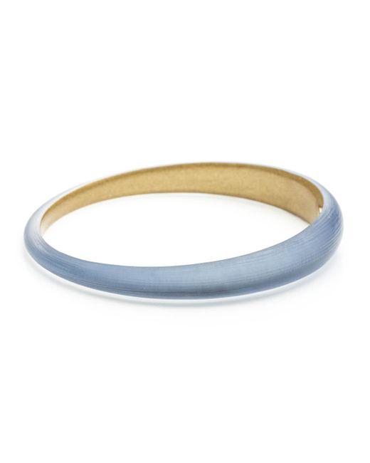 Alexis Bittar - Blue Skinny Tapered Bangle Bracelet - Lyst
