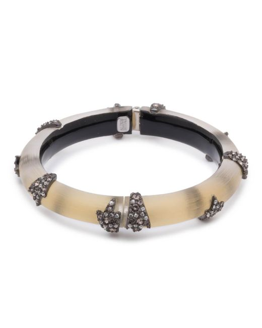 Alexis Bittar | Metallic Crystal Encrusted Starburst Studded Hinge Bracelet You Might Also Like | Lyst
