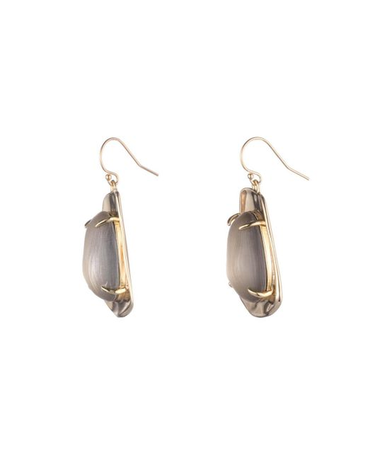 Alexis Bittar | Metallic Liquid Gold Lucite Wire Earring You Might Also Like | Lyst