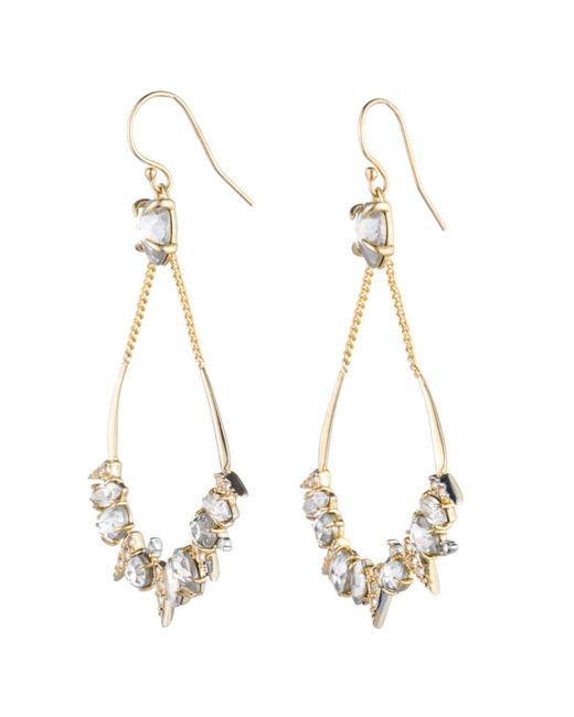 Alexis Bittar - Metallic Crystal Encrusted Mosaic Futurist Tear Earring You Might Also Like - Lyst