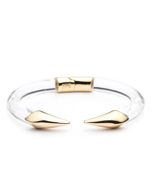 Alexis Bittar - Metallic Mirrored Pyramid Break Hinge Bracelet - Lyst