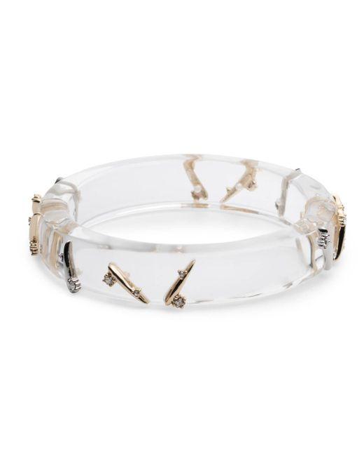 Alexis Bittar - Metallic Crystal Spike Hinge Bracelet - Lyst