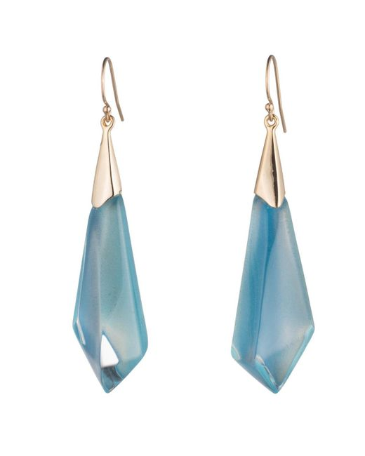 Alexis Bittar | Blue Faceted Wire Earring You Might Also Like | Lyst