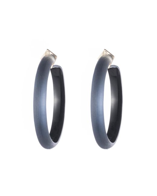 Alexis Bittar - Blue Large Hoop Earring You Might Also Like - Lyst