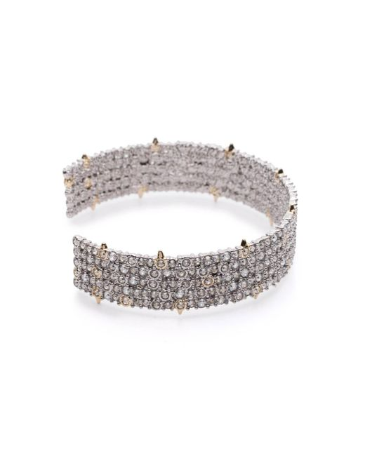 Alexis Bittar - Metallic Crystal Lace Cuff You Might Also Like - Lyst