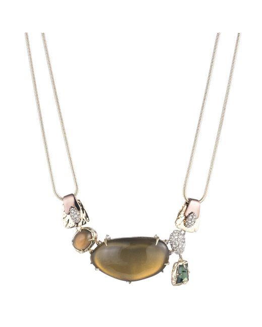 Alexis Bittar | Multicolor Lucite And Stone Bib Necklace You Might Also Like | Lyst