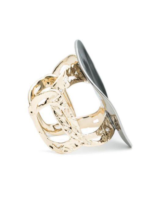 Alexis Bittar | Metallic Disk Cuff Bracelet You Might Also Like | Lyst